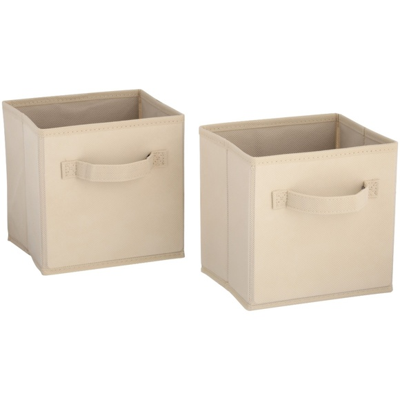 ClosetMaid Other - New ClosetMaid Cubeicals Natural Fabric Drawers 2